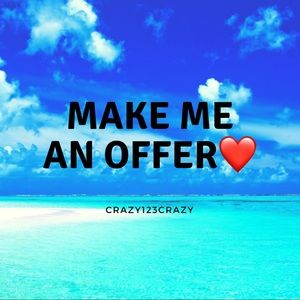 Make me an offer ❤️